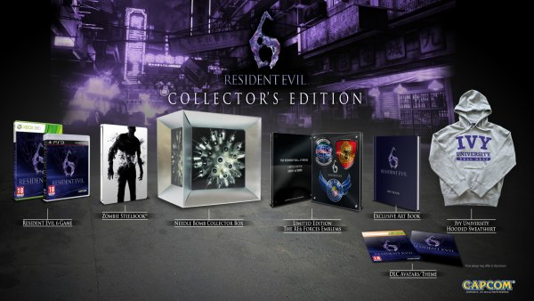 Resident  Evil 6 :La future édition collector sera plus raisonnable qu'au Japon