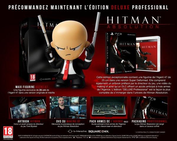 L'édition Deluxe Professional de Hitman Absolution
