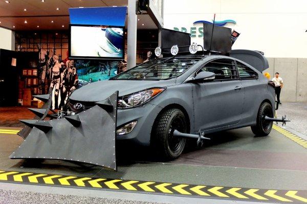 """La Hyundai Elantra édition spéciale """"The Walking Dead"""""""