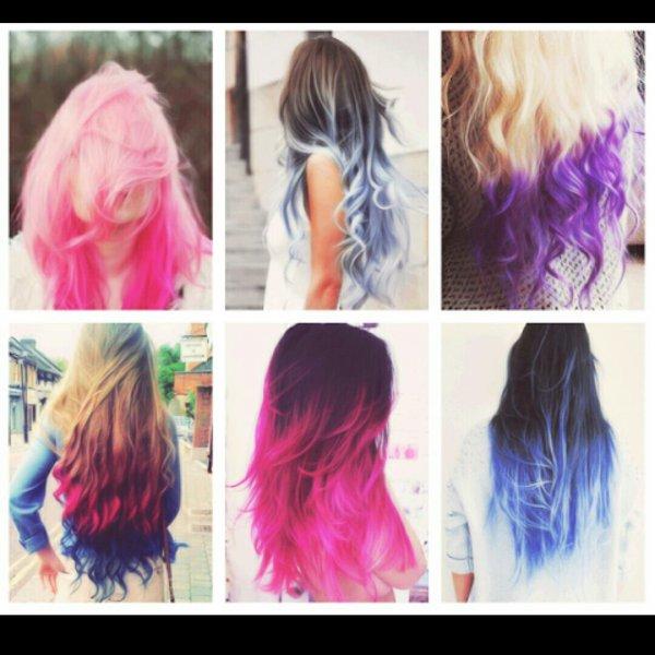 Vous préférés quoi ? Moi perso : les 3 du bas ??? #thaïanddai #ombrédenaturel #cheveux #couleur #méche ?