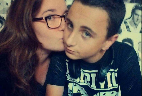 Ma vie je t'aime trop ?? #forever #BFF #Nicolas ?? ✌