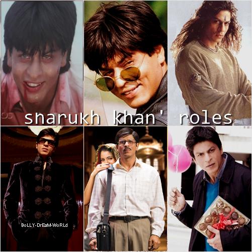 Sharukh Khan' Roles