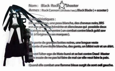 "Miku's ""BLACK ROCK SHOOTER"" with Romaji lyric"