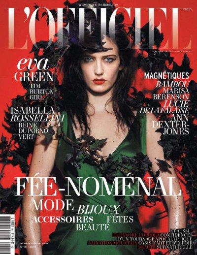 Découvrez huit couverture de magazines de la charmante Eva Green
