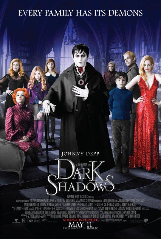 Vus sur Dark Shadows ...