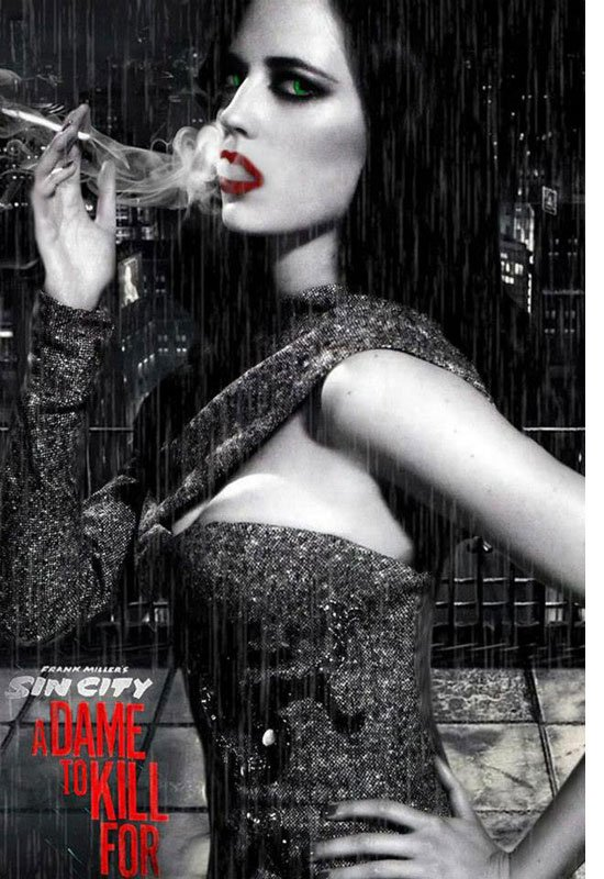 Eva Green s'affiche pour Sin City 2 !