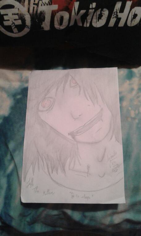 Jeff the killer ^^ dessiner par moiiiiii