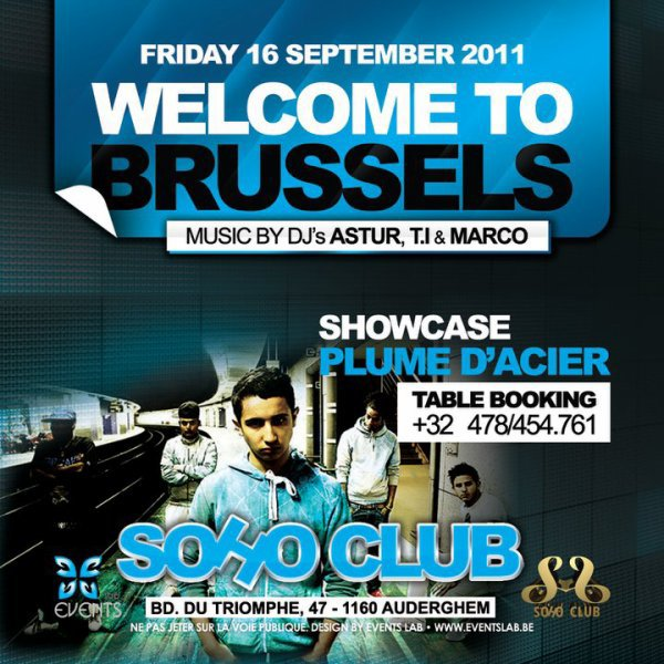 PLUME D'ACIER EN SHOWCASE @SOHO CLUB