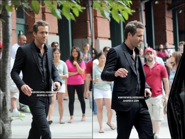 # RYAN'S CANDIDS OF 4TH AUGUST  >> WWW.RYANREYNOLDSSOURCE.SKYROCK.COM