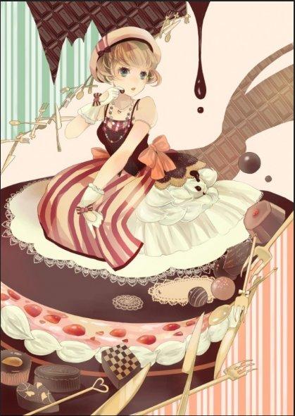 i love chocolat
