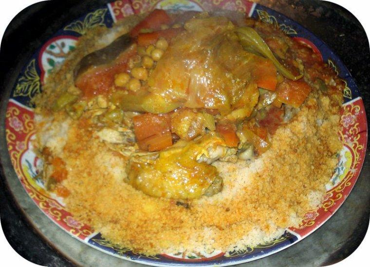 idee recette couscous poulet recette couscous marocain. Black Bedroom Furniture Sets. Home Design Ideas