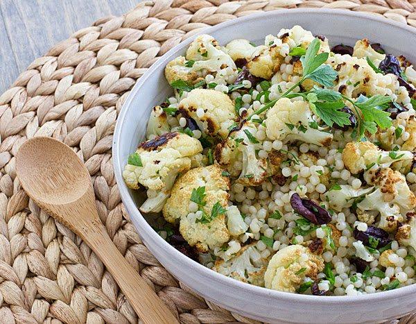 idee recette facile chou fleur chaude et salade de couscous marocain recette couscous marocain. Black Bedroom Furniture Sets. Home Design Ideas