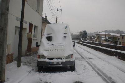 28 - Neige sur Moissac  ...
