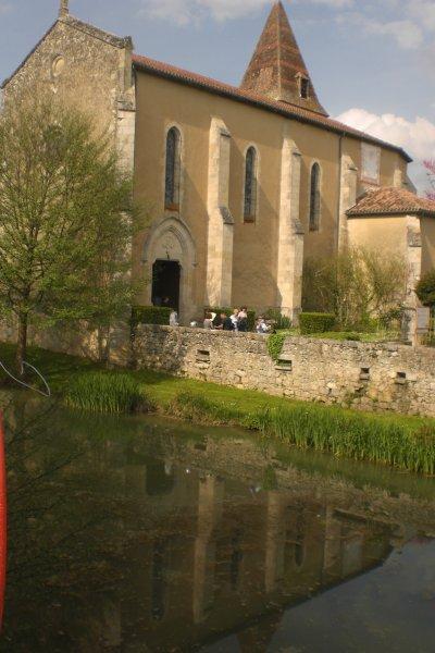 34.1 - Fourcès - l'église