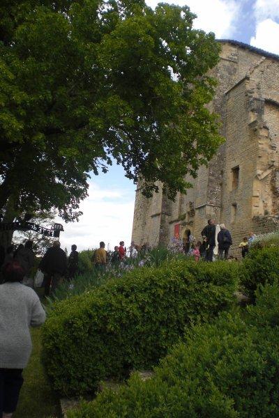 35 - Foire aux plantes à  l'Abbaye Nouvelle- l'Entrée