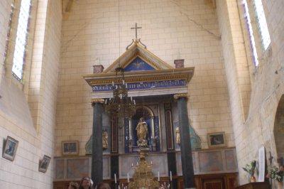 35.4 - L'Abbaye Nouvelle-- La chapelle & les alentours