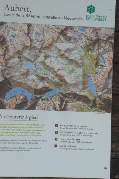 45 - Détail géologique et dernière vue sur le lac d'Aubert