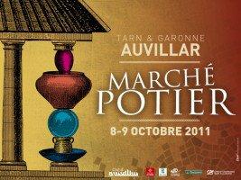 68.2 - Les 8 & 9  octobre  2011- Marché potier à Auvillar (82)