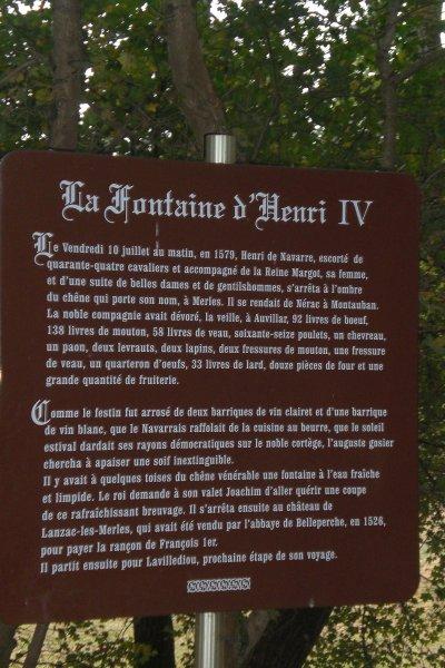 69.3 - Le Chêne d'Henri IV  à Merles (82)