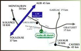 17.4 - Le   Jardin   des   Martels               à Giroussens (81)