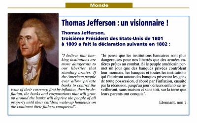 75.2 - Thomas Jefferson un visionnaire ....
