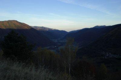 73.1 -  Les lacs  de Consaterre  le 12/11/11 depuis Ens (65)