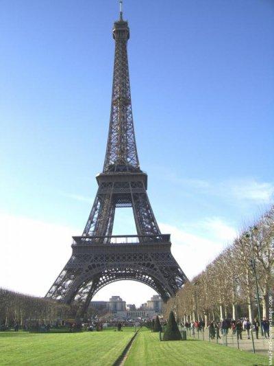 """75.4 - """"La Tour Eiffel à l'An vert  """""""