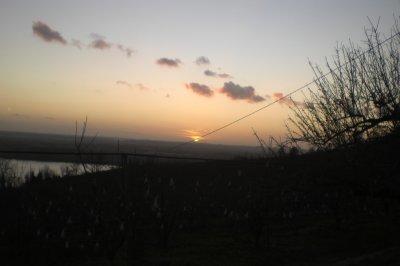 79.1  - Couché de soleil  sur le Tarn & la Garonne