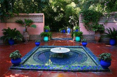 84.1 - Le  jardin bleu Majorelle