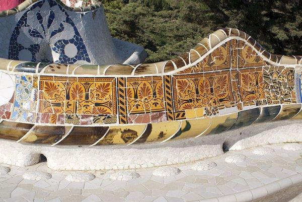 106.2 - Le parc Güell l'une des réalisations de l'architecte catalan Antoni Gaudí à Barcelone, figure sur la liste du patrimoine mondial de l'UNESCO.