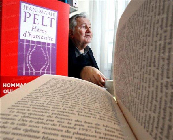 """111.1 - """"Héros d'Humanité"""", un livre de Jean-Marie PELT"""