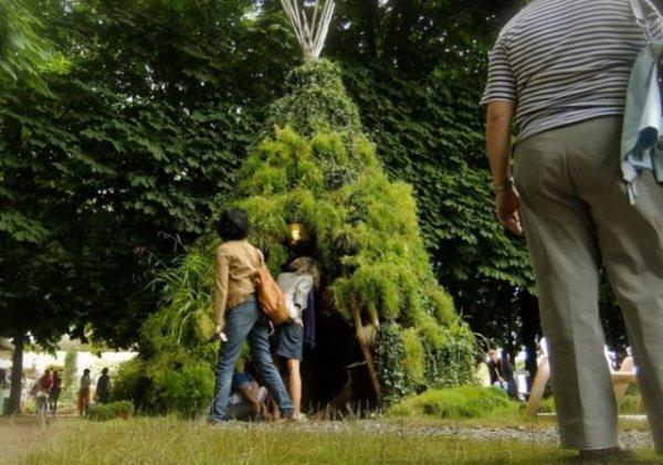 131 - Des sculptures végétales monumentales installées dans les jardins de Montreal