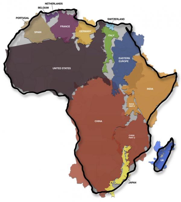 139.1 - Cette carte va changer votre perception du monde...