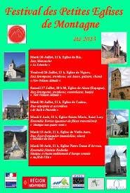 146 - Festival  d'été des petites églises de montagne