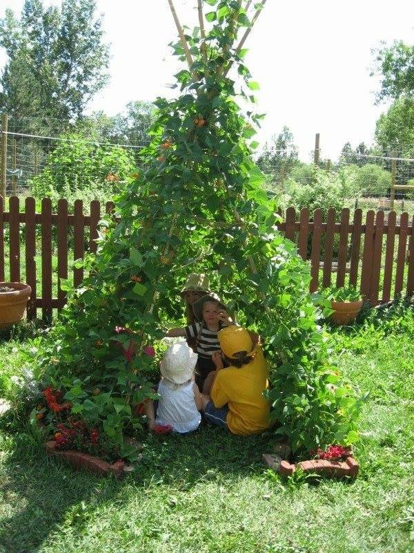 150.2 - Idées enfantines au jardin