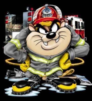 155.1 - De la différence entre un pompier et un jardinier ....