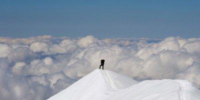 160.4 - La montagne ce n'est pas la cour  de récrée  !