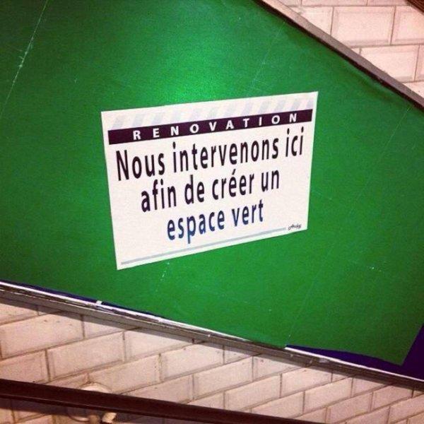 163 - Un street-artiste bordelais fait sourire le métro parisien