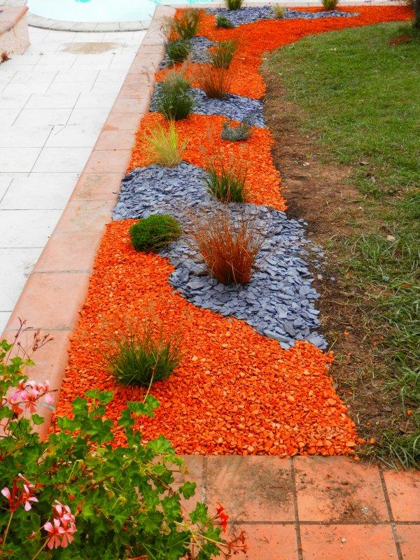 168 - Création octobre 2014 : Oser la couleur  au jardin  !