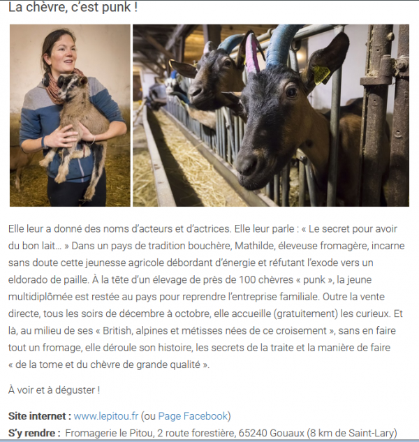 173.3 - Mathilde, chevrière nouvelle génération ...