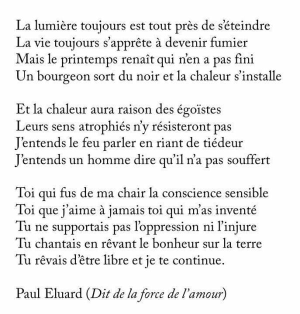 Liberté ( Paul Eluard ) lu par  Gérard Philippe.