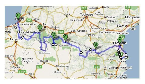 185.4 - La Grande Traversée des Pyrénées d'Ouest en Est (Topopyrenees Mariano)
