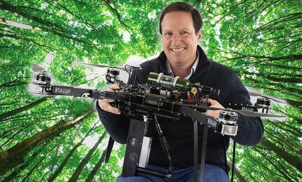 186.4 - Une technologie au service de la planète  :  Il veut planter un milliard d'arbres avec ses drones