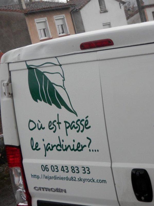"""193.1- """"Où est passé le jardinier ?"""" telle est l'appelation de mon service à la personné crée en 2004-  Au service des particuliers, dans le cadre des CESU , mais aussi des entreprises de moins de 9 salariés en TESE ou des Associations en CEA ..."""