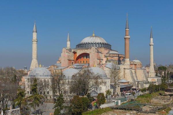 """200.1 - Monuments éternels :  """"La basilique Ste Sophie à Istambule"""""""