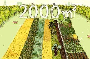 203.4 - Projet 2000m2 : comment bien nourrir la population mondiale !