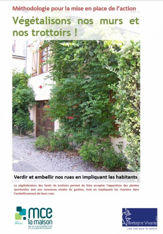 203 - Végétalisons nos murs et nos trottoirs!