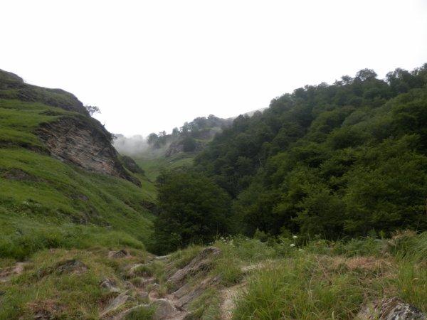 211.4 - Les gorges de Logibar , un vivier imaginaire ....