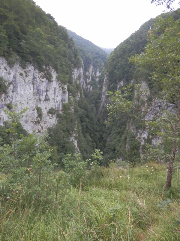 212 - Des gorges de Logibar au chemin de la mature