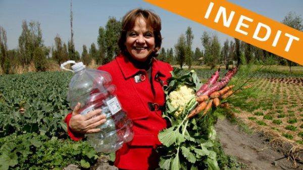 J'échange vos déchets contre de la nourriture bio